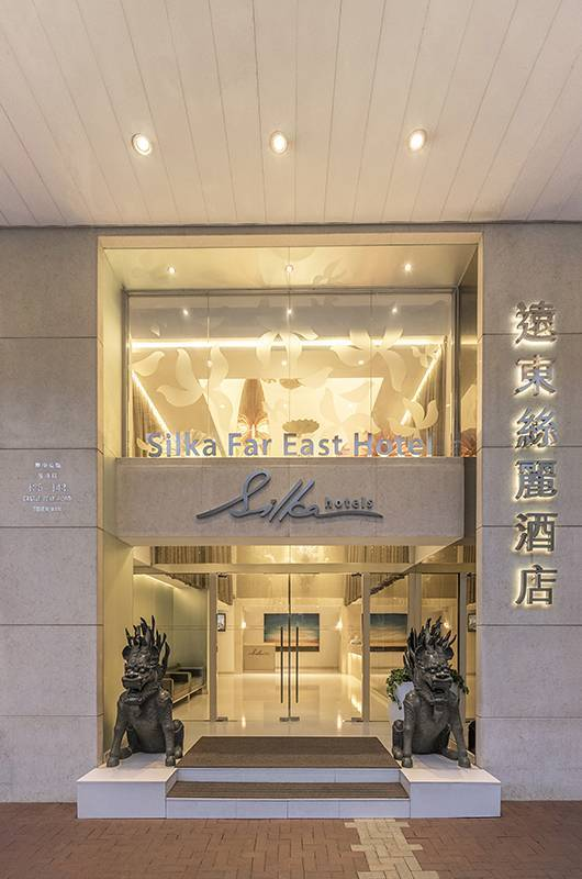 Hotel Entrance: Centrally located in Tsuen Wan with lots of local colour