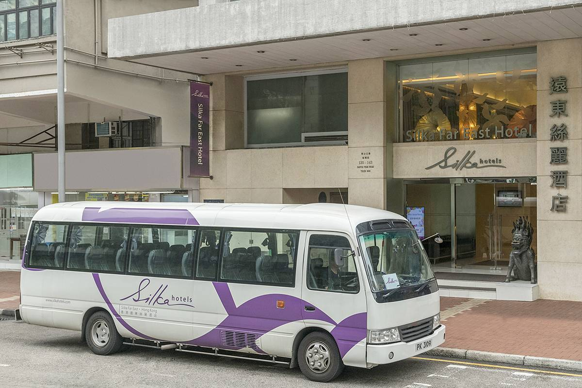 Shuttle Bus service: Our extensive shuttle bus service is free for your convenience