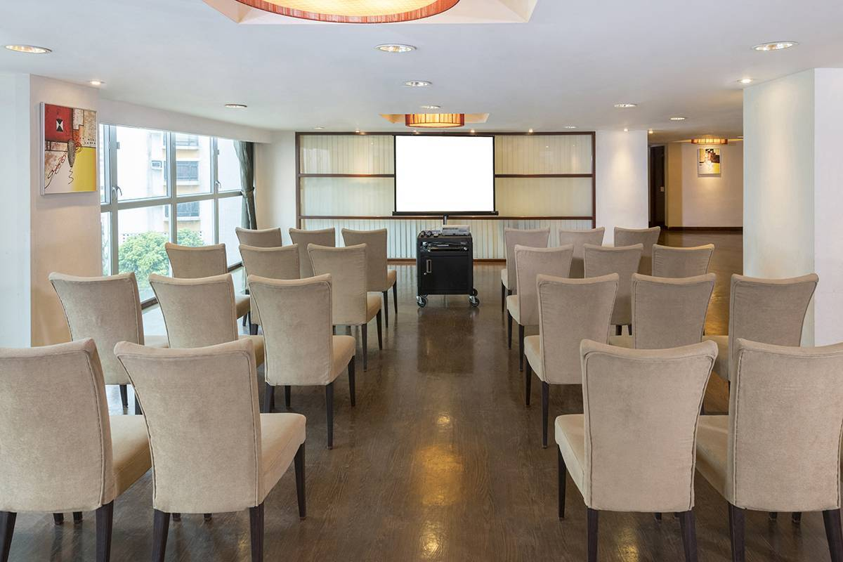 Function Room:  For your meeting, try theatre style at the Function Room