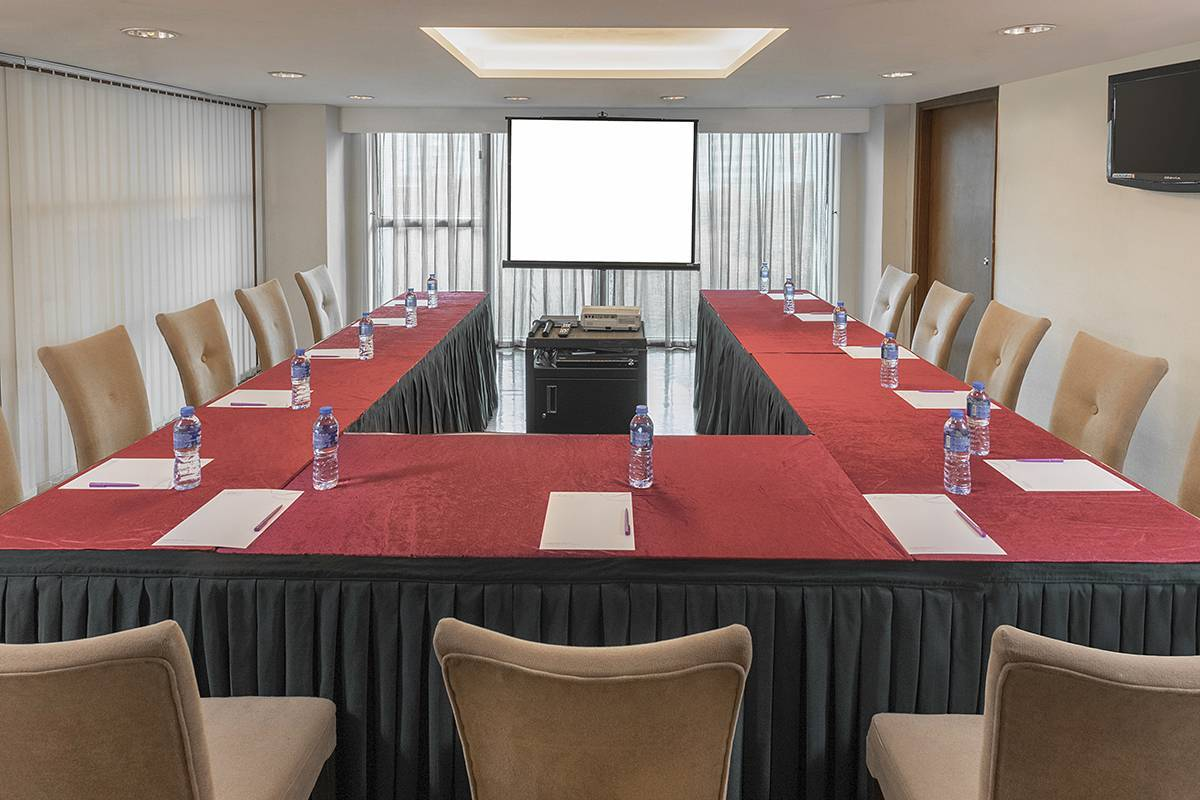 Function Room:  You can meet in U-shaped style at the Function Room