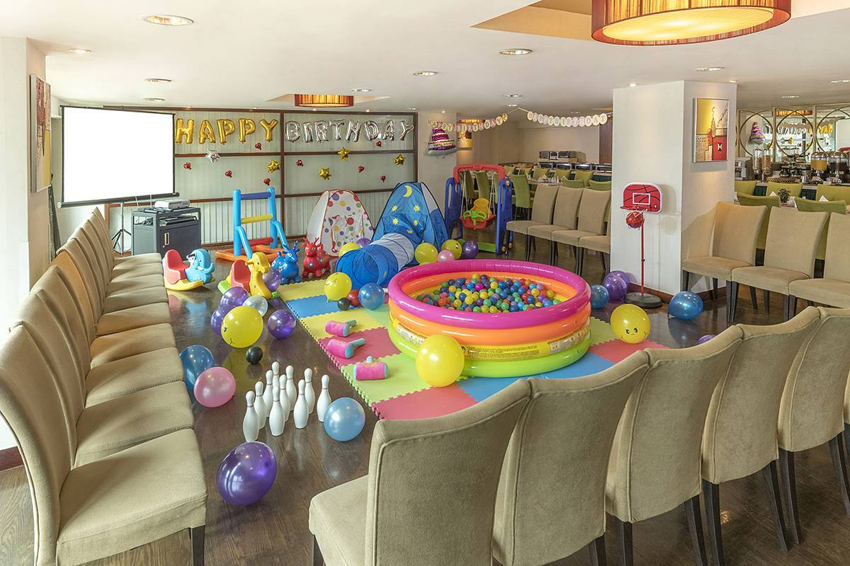 Function Room:  Have a great party theme in the hotel's Function Room