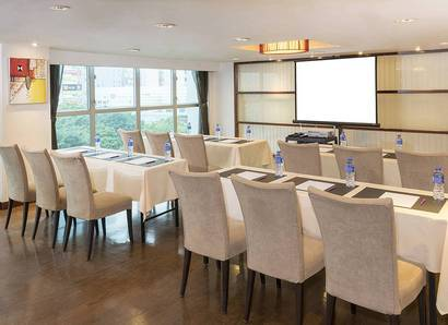 Function Room:  For your meeting, try classroom style at the Function Room