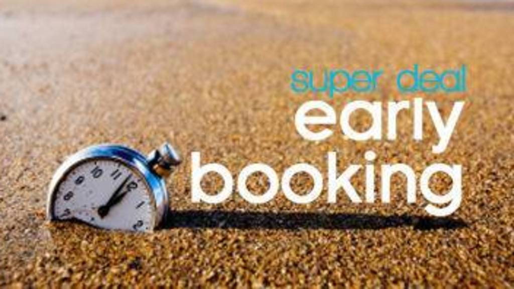 Early Booking Offers – Save up to 20% OFF on Your Stay