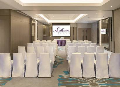 Theatre style is another type of meeting space for you