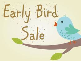 Early Bird 7/21 Days - Save Up To 35%