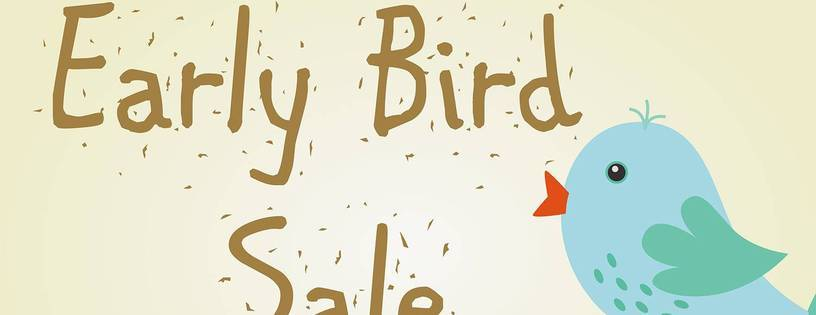 Early Bird 21 Days - Save 35%