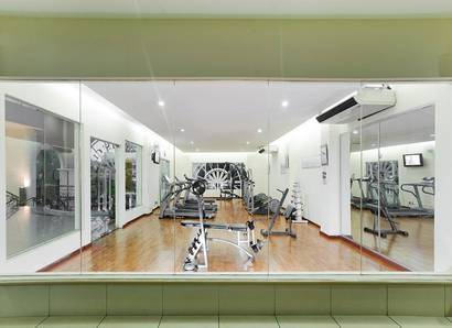 Gymnasium: Stay fit during your stay with our great gym facilities