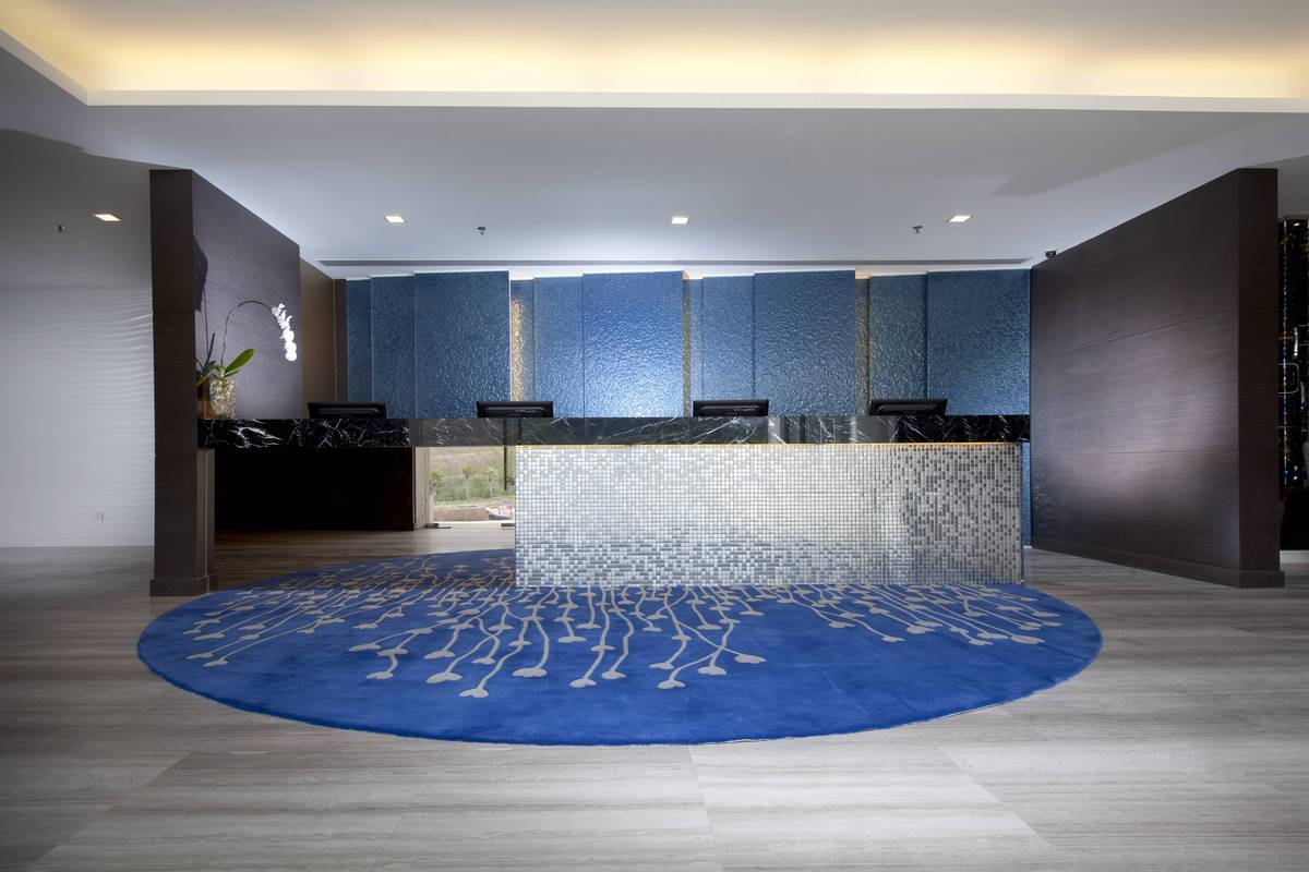 Hotel Lobby: A hotel's reception is where great first impressions are created