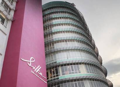 Silka Cheras – Day: Day view of the hotel's sleek and modern semi-circular façade