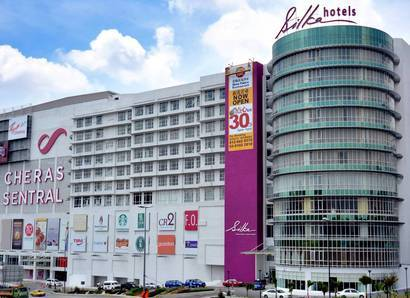 Hotel Facade: The mall next door offers great convenience at Silka Cheras
