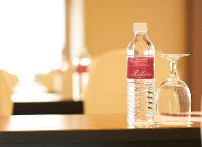 Meetings: Complimentary bottled water for meetings help you quench your thirst