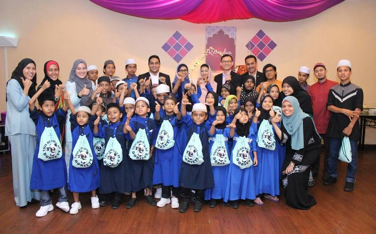 Ramadan Cheer for Children of Rainbow of Love School