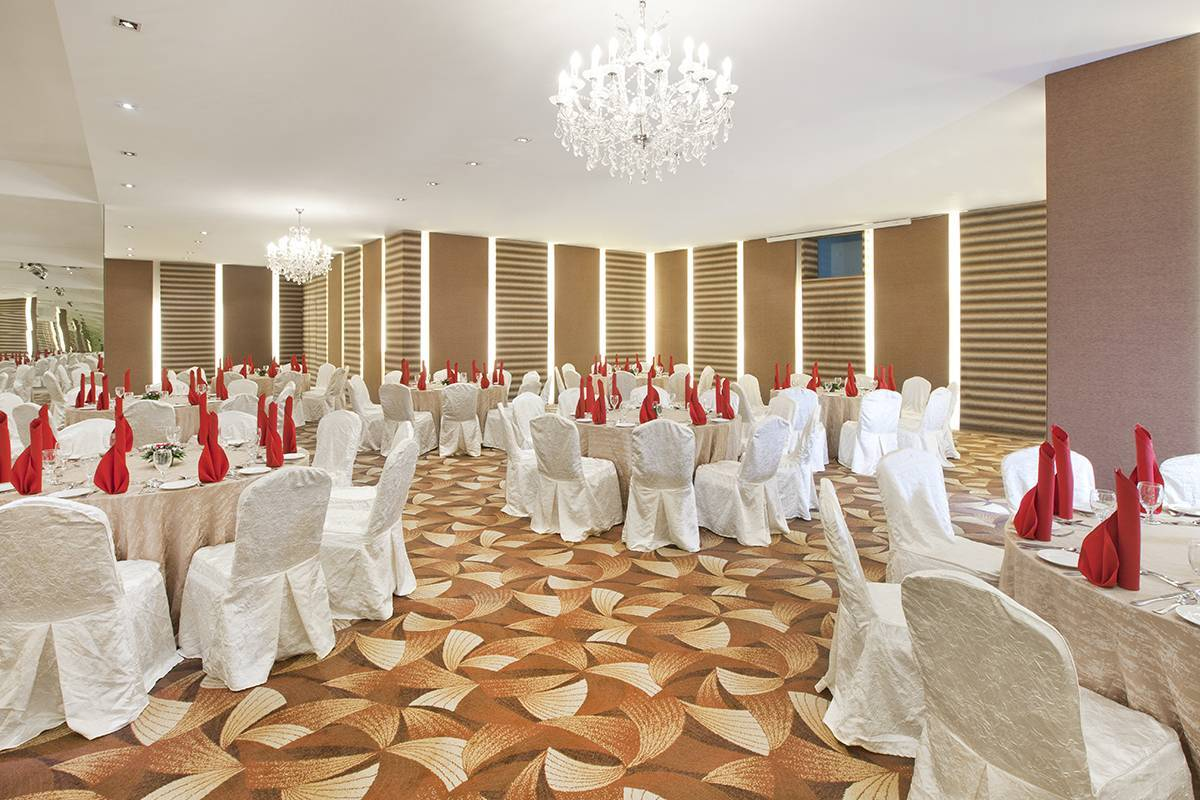 Ballroom: The Songket Ballroom, fit for small-medium scale weddings and events