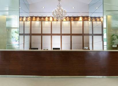 Hotel Reception: A welcome reception where first impressions are made and kept