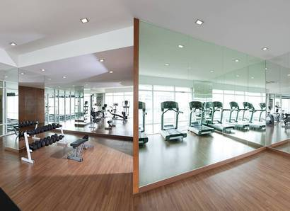 Gymnasium: Work up a sweat in our Gymnasium on level 9